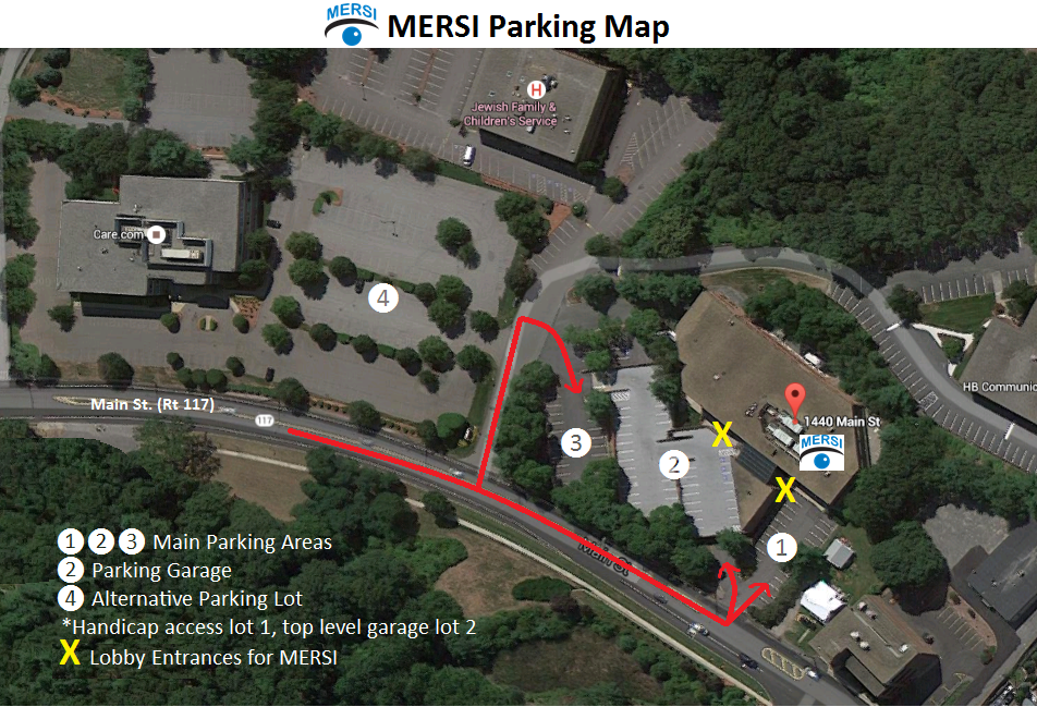 Directions To Waltham Office Mersi